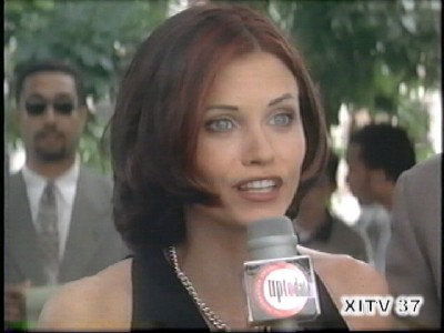 Nation of XI's Girls World! Courtney Cox In Your Face Video!